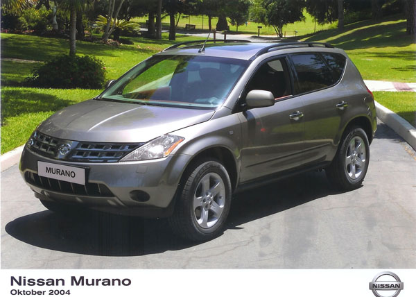 nissan murano trendiger crossover. Black Bedroom Furniture Sets. Home Design Ideas